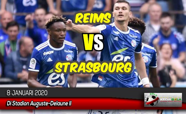 Prediksi Skor Bola Reims vs Strasbourg 8 Januari 2020