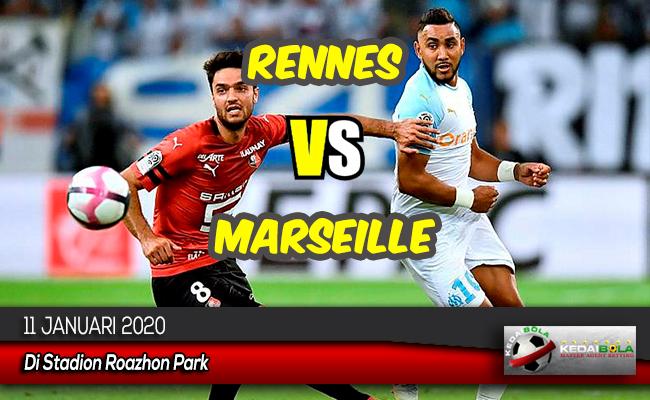 Prediksi Skor Bola Rennes vs Marseille 11 Januari 2020