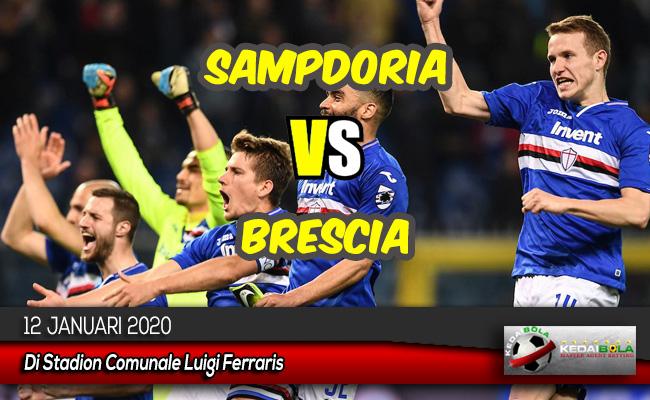 Prediksi Skor Bola Sampdoria vs Brescia 12 Januari 2020
