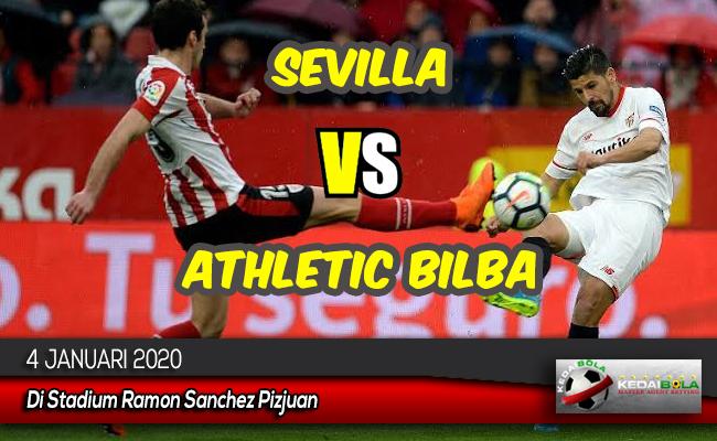 Prediksi Skor Bola Sevilla vs Athletic Bilbao 4 Januari 2020