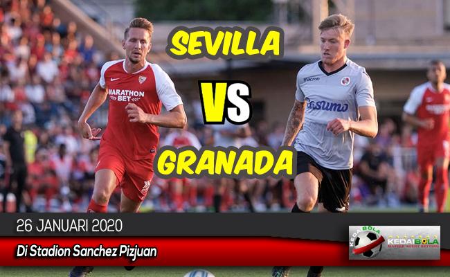 Prediksi Skor Bola Sevilla vs Granada 26 Januari 2020