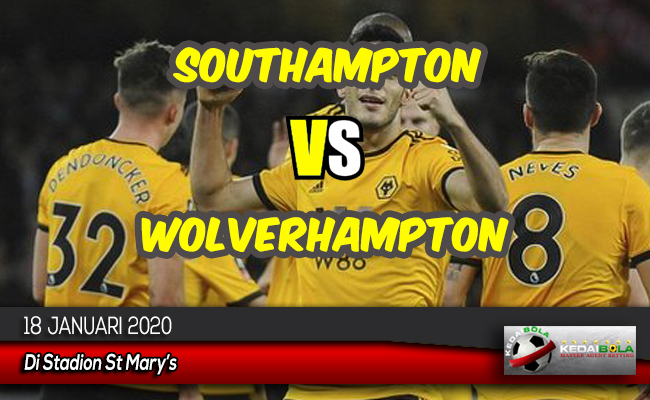 Prediksi Skor Bola Southampton vs Wolverhampton 18 Januari 2020