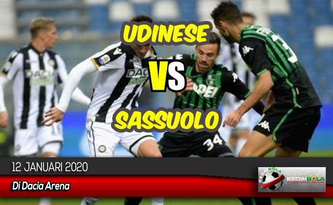 Prediksi Skor Bola Udinese vs Sassuolo 12 Januari 2020