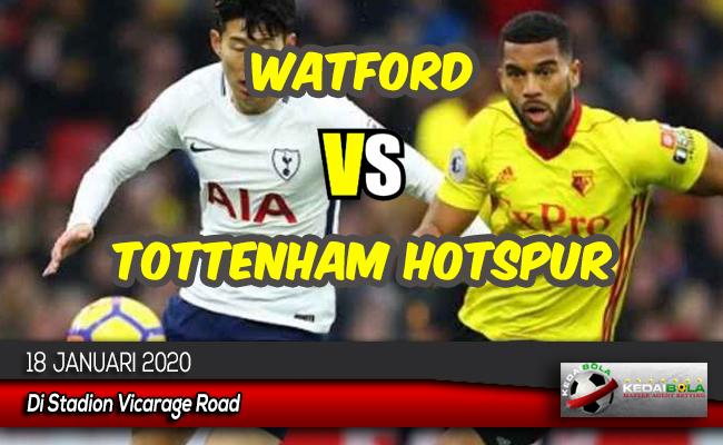 Prediksi Skor Bola Watford vs Tottenham Hotspur 18 Januari 2020