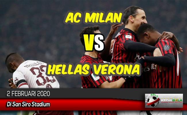 Prediksi Skor Bola AC Milan vs Hellas Verona 2 Februari 2020