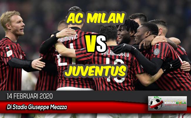 Prediksi Skor Bola AC Milan vs Juventus 14 Februari 2020