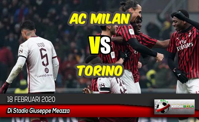 Prediksi Skor Bola AC Milan vs Torino 18 Februari 2020