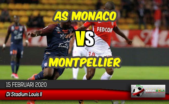 Prediksi Skor Bola AS Monaco vs Montpellier 15 Februari 2020