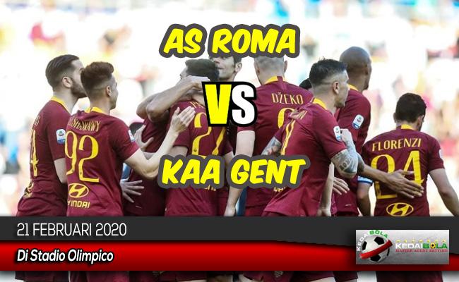 Prediksi Skor Bola AS Roma vs KAA Gent 21 Februari 2020