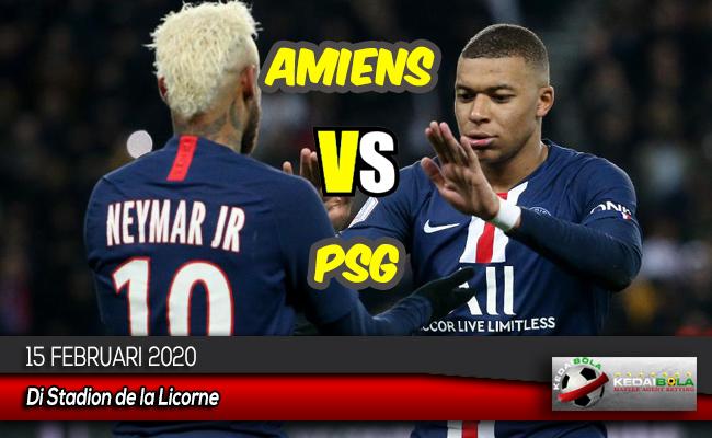 Prediksi Skor Bola Amiens vs PSG 15 Februari 2020