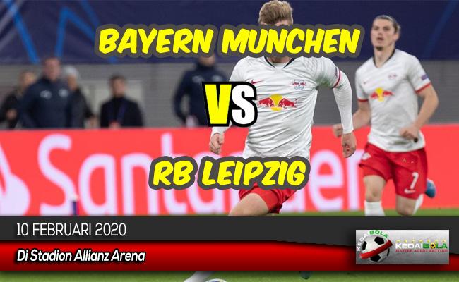 Prediksi Skor Bola Bayern Munchen vs RB Leipzig 10 Februari 2020