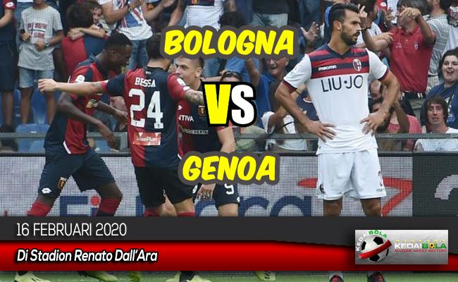 Prediksi Skor Bola Bologna vs Genoa 16 Februari 2020