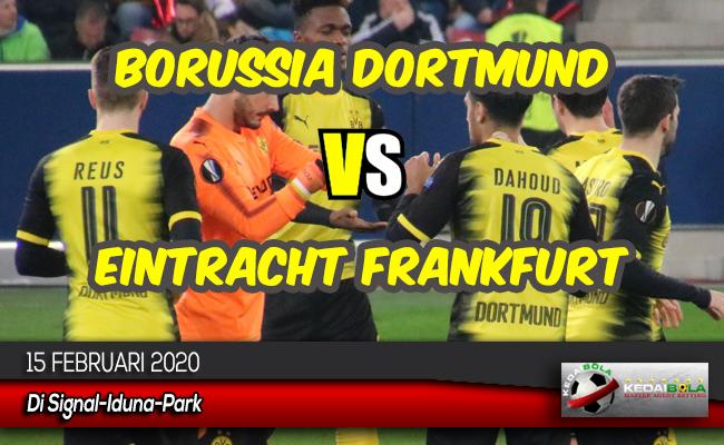 Prediksi Skor Bola Borussia Dortmund vs Eintracht Frankfurt 15 Februari 2020
