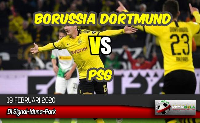 Prediksi Skor Bola Borussia Dortmund vs PSG 19 Februari 2020