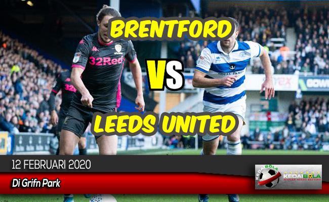 Prediksi Skor Bola Brentford vs Leeds United 12 Februari 2020