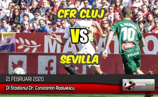 Prediksi Skor Bola CFR Cluj vs Sevilla 21 Februari 2020