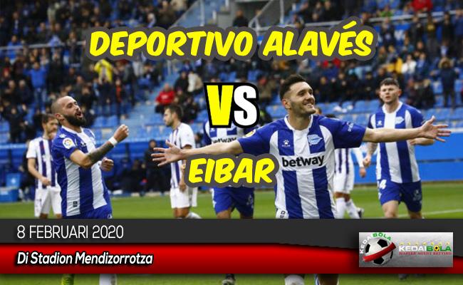 Prediksi Skor Bola Deportivo Alavés vs Eibar 8 Februari 2020
