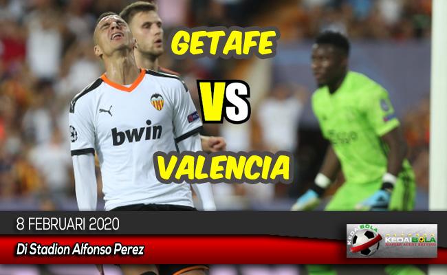 Prediksi Skor Bola Getafe vs Valencia 8 Februari 2020
