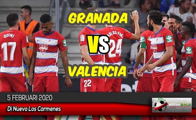 Prediksi Skor Bola Granada vs Valencia 5 Februari 2020