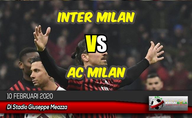 Prediksi Skor Bola Inter Milan vs AC Milan 10 Februari 2020