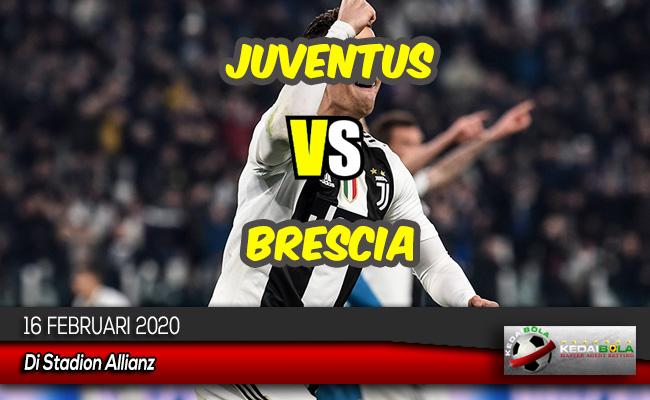Prediksi Skor Bola Juventus vs Brescia 16 Februari 2020