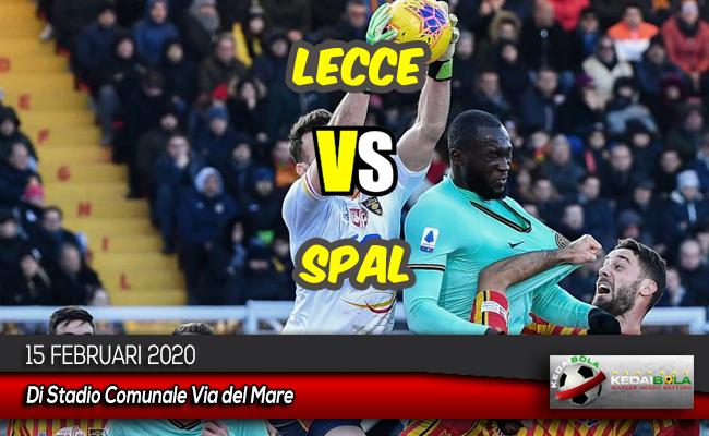Prediksi Skor Bola Lecce vs SPAL 15 Februari 2020