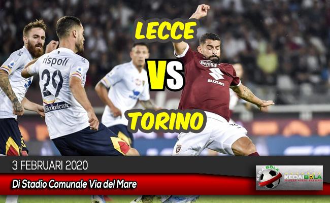 Prediksi Skor Bola Lecce vs Torino 3 Februari 2020