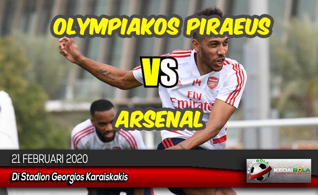 Prediksi Skor Bola Olympiakos Piraeus vs Arsenal 21 Februari 2020