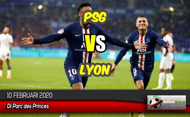 Prediksi Skor Bola PSG vs Lyon 10 Februari 2020