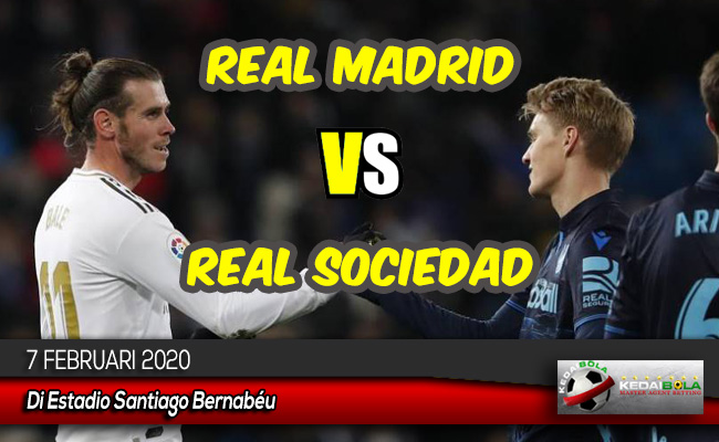 Prediksi Skor Bola Real Madrid vs Real Sociedad 7 Februari 2020