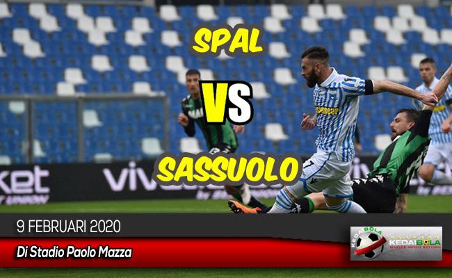 Prediksi Skor Bola SPAL vs Sassuolo 9 Februari 2020