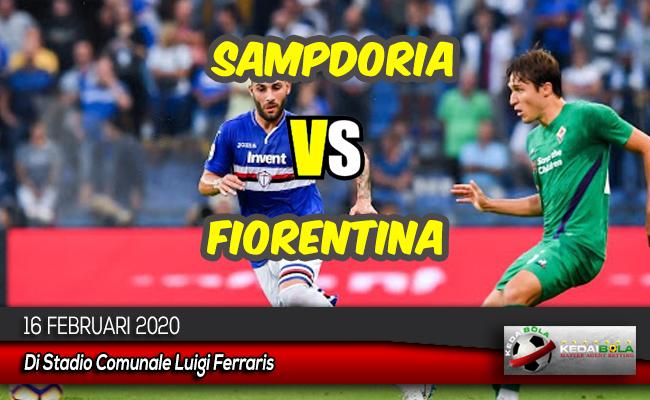 Prediksi Skor Bola Sampdoria vs Fiorentina 16 Februari 2020