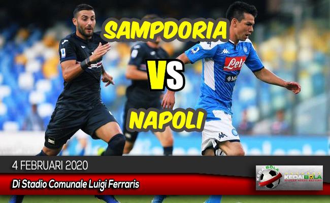 Prediksi Skor Bola Sampdoria vs Napoli 4 Februari 2020