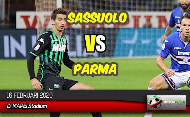 Prediksi Skor Bola Sassuolo vs Parma 16 Februari 2020