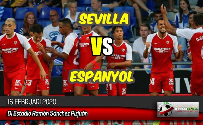 Prediksi Skor Bola Sevilla vs Espanyol 16 Februari 2020
