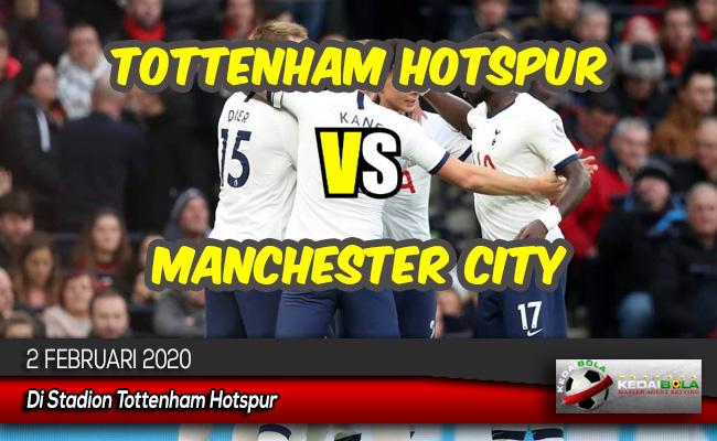 Prediksi Skor Bola Tottenham Hotspur vs Manchester City 2 Februari 2020