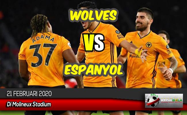 Prediksi Skor Bola Wolves vs Espanyol 21 Februari 2020